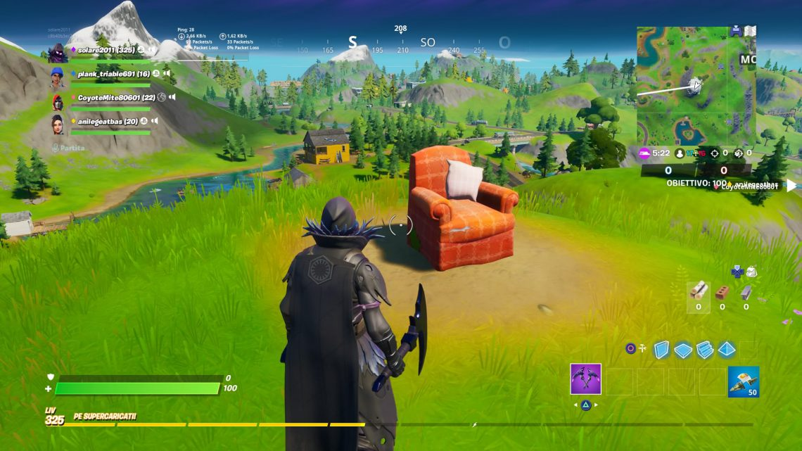 FORTNITE GUIDE: VISITA UNA POLTRONA SOLITARIA, UNA STAZIONE RADIO E UN CINEMA DRIVE IN